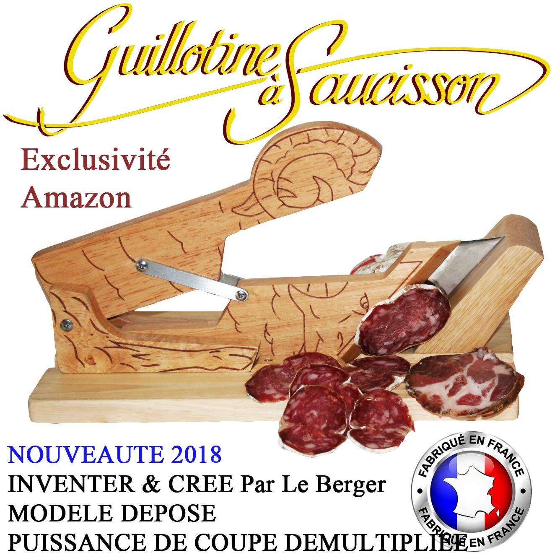 guillotine à saucisson, Trancheuse La Petite Merveille & Couteau Offert